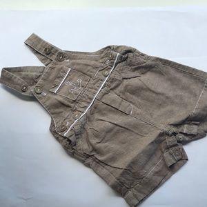 6m Jacadi Overall Shorts